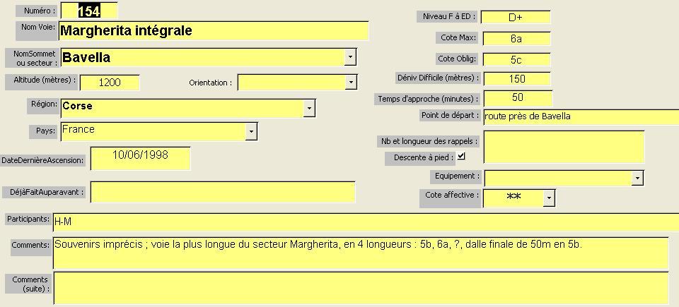 Voie Margherita intégrale, Bavella, Corse