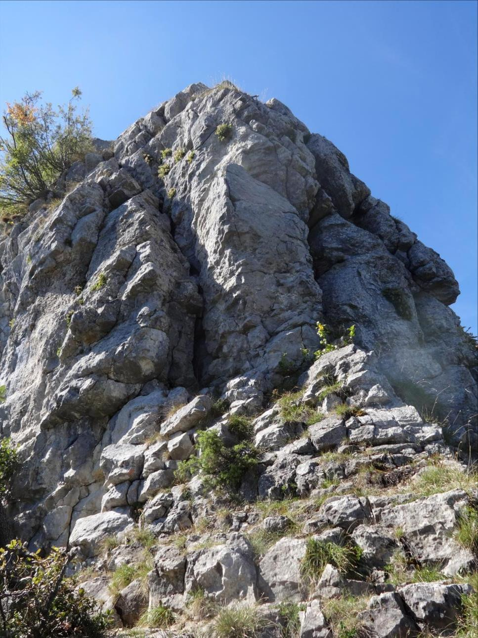 Aiguille de Quaix, Longueur L1 en versant Nord, Chartreuse