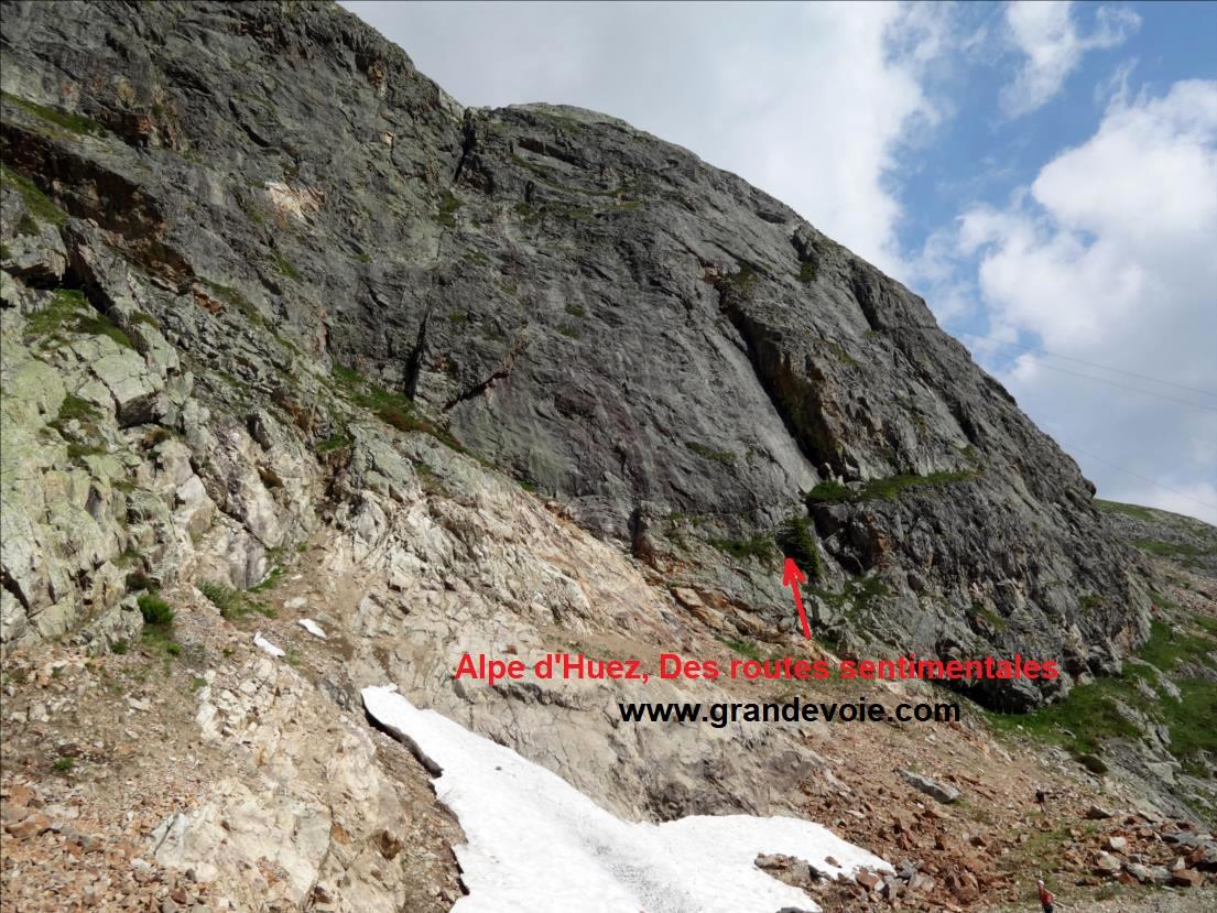 Alpe d`Huez, voie `Des routes sentimentales`, Belledonne