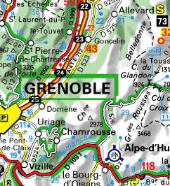 Carte de Belledonne