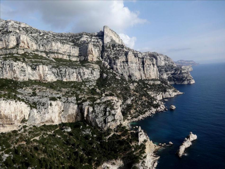 La Candelle, sommet dans les Calanques de Marseille