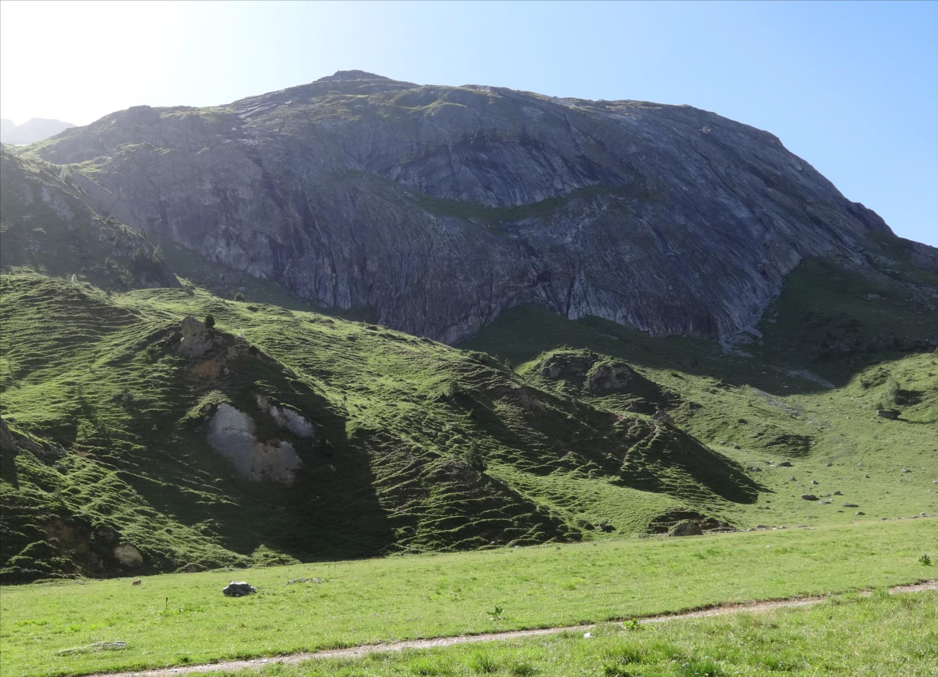 Sacré coup de Biol, Montagne de la Petite Val, Vanoise