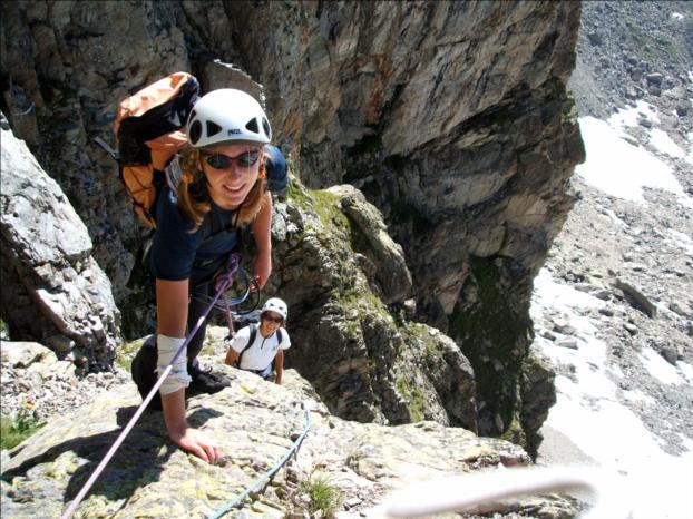 Voie Ravanel de l`Aiguille Sud des Crochues, Chamonix