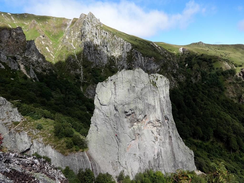 La Dent de la Rancune, près de la crête du Coq, Auvergne