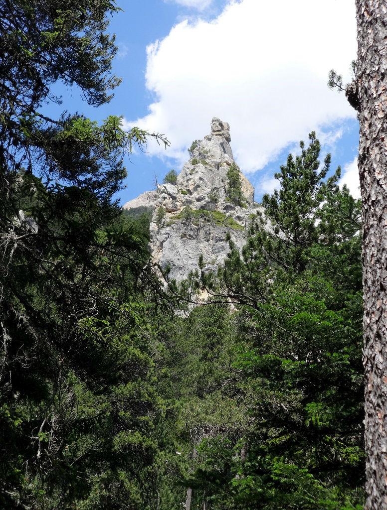 Dent du monolithe de Sardières, Maurienne