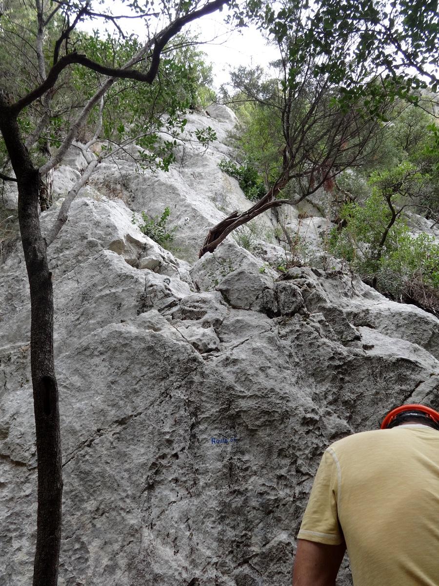 Gorges du Destel, voie Route 66, Provence