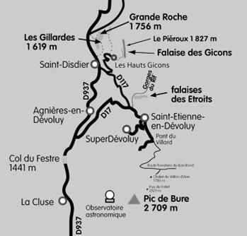 Hauts-Gicons, Dévoluy