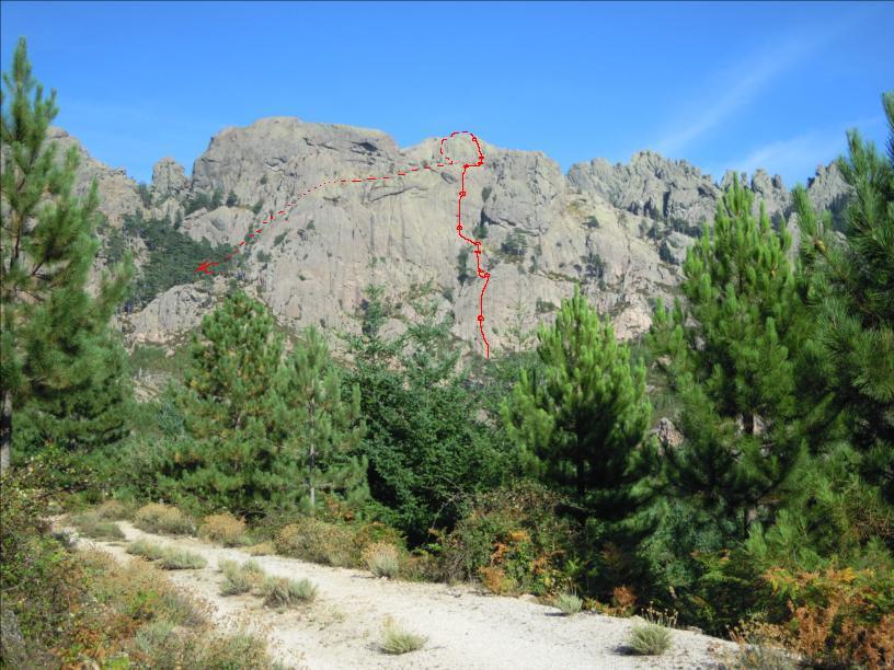 U diavolu d`Argazavu, Bavella, Corse