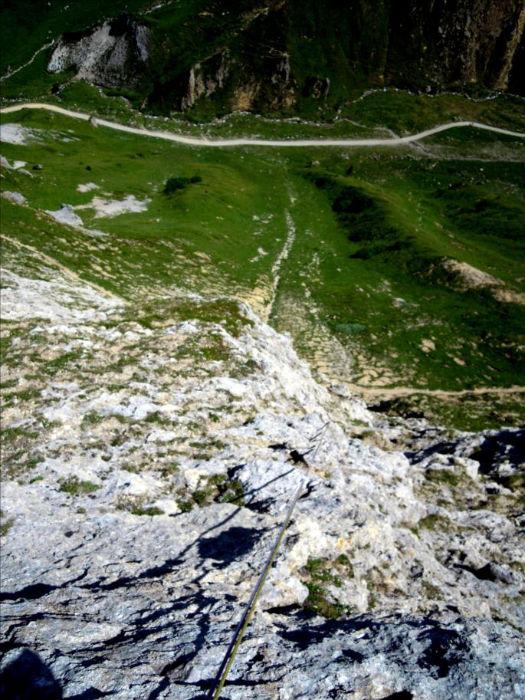 Montagne de la Grande Val, voie Bouboulinette, Vanoise