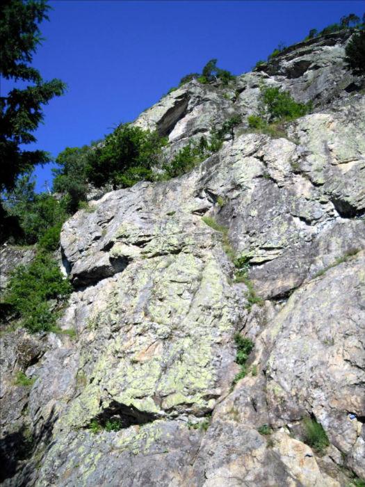 Roche des Foyères, voie Le nez de Zmutt, Vanoise