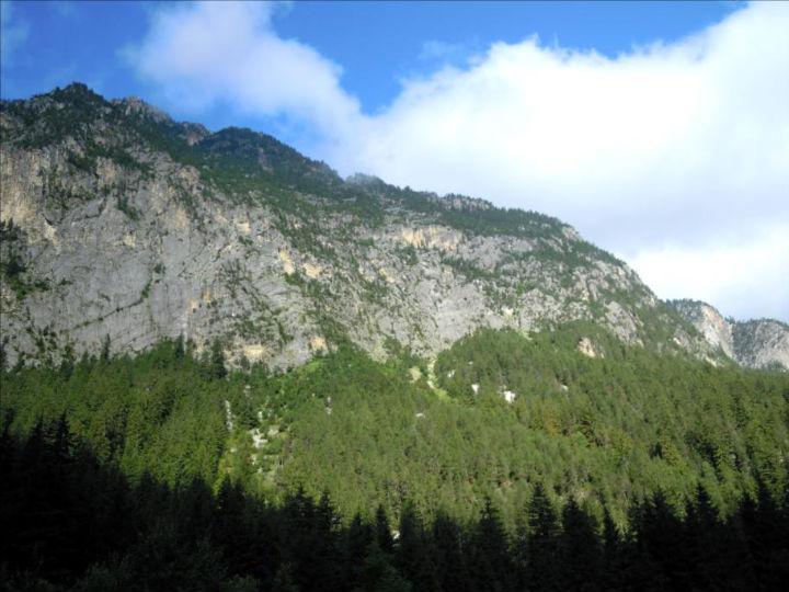 La Pierre à Crêpa, voie `La fée du logis`, Vanoise