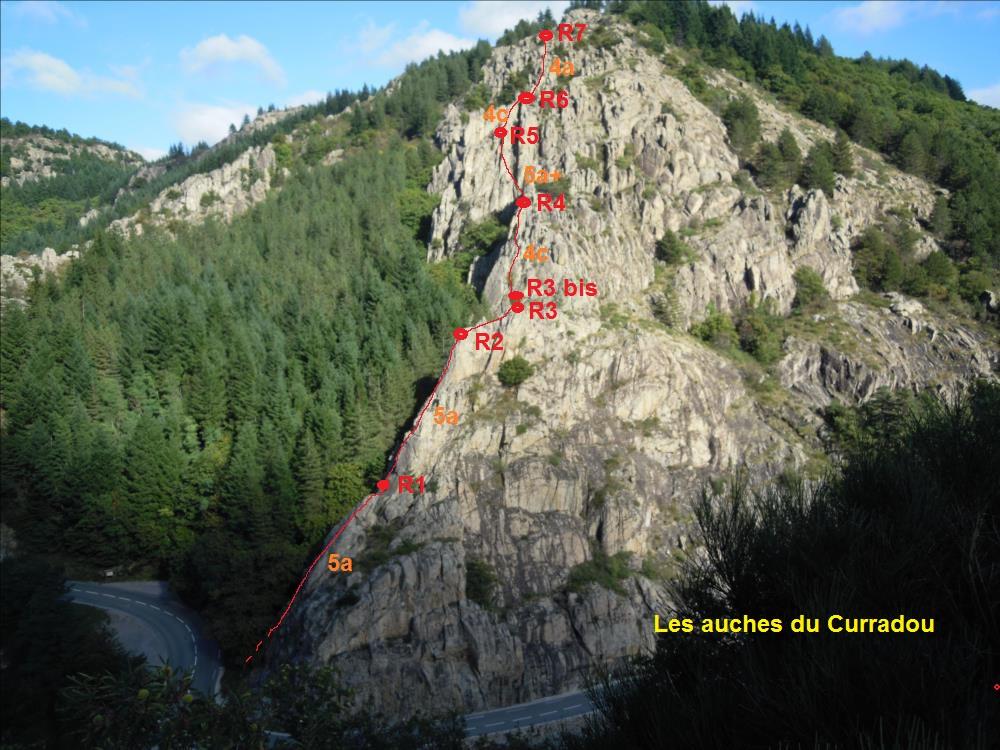 Ardèche, les Auches du Curradou