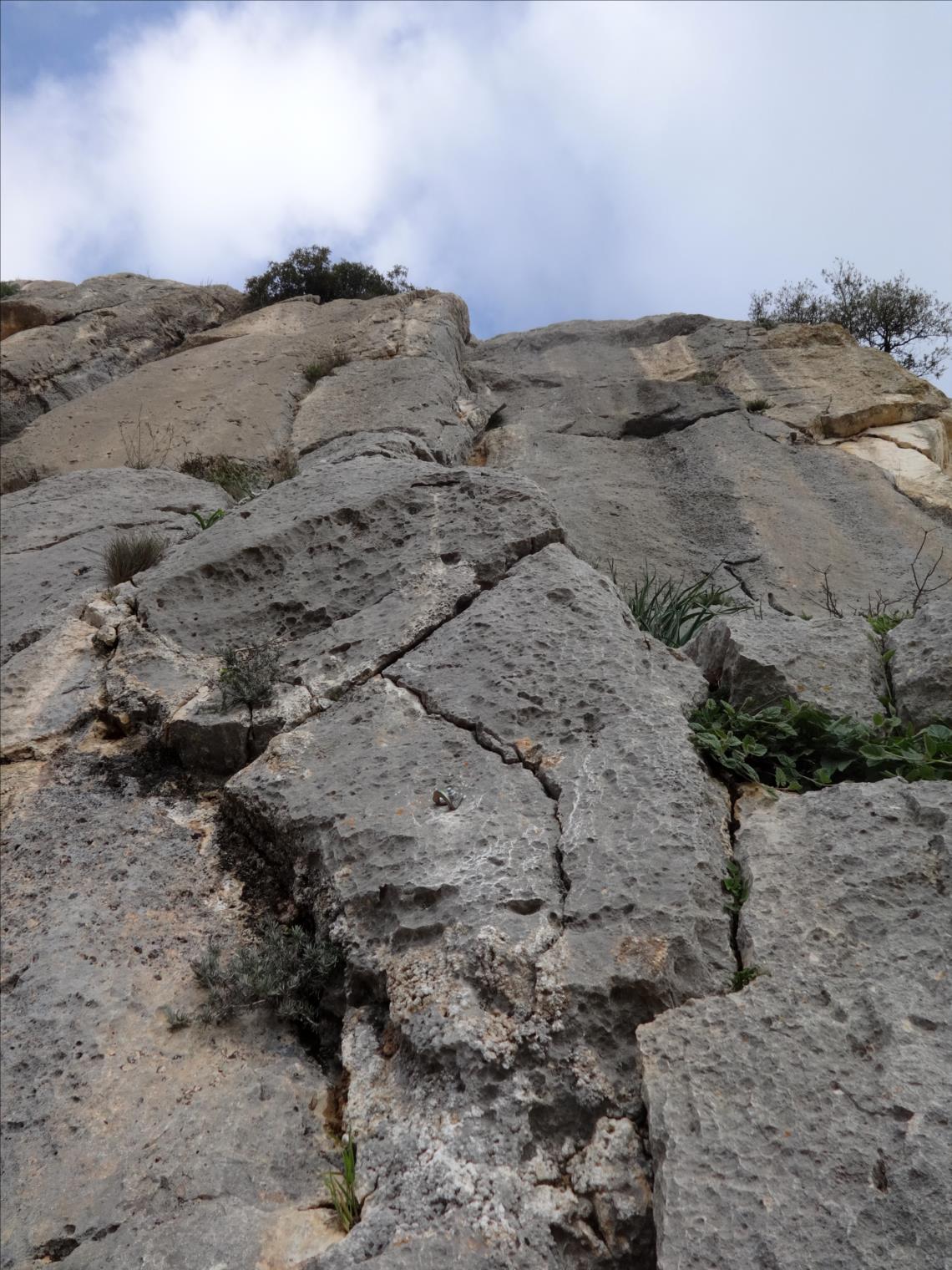 El Chorro, Voie Three-Sixty, longueur L6, Andalousie