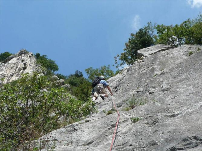 Eperon des gosses mythiques, Ste-Egrève, Grenoble