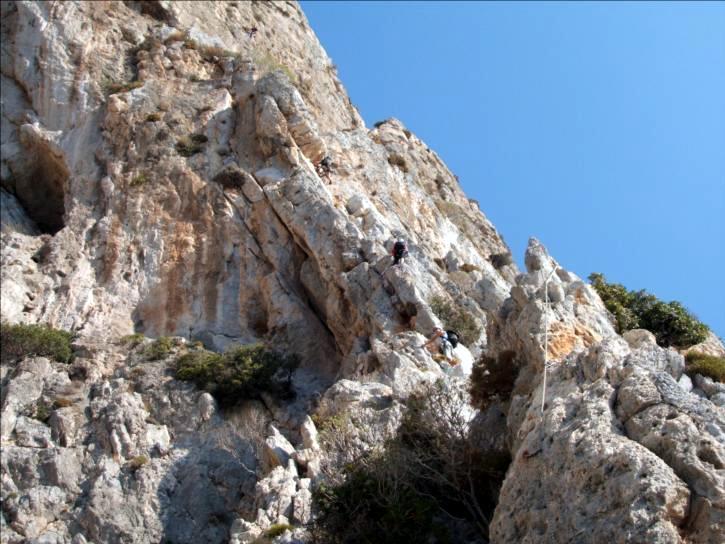 Kalymnos-Telendos, Voie Wings for life, Grèce