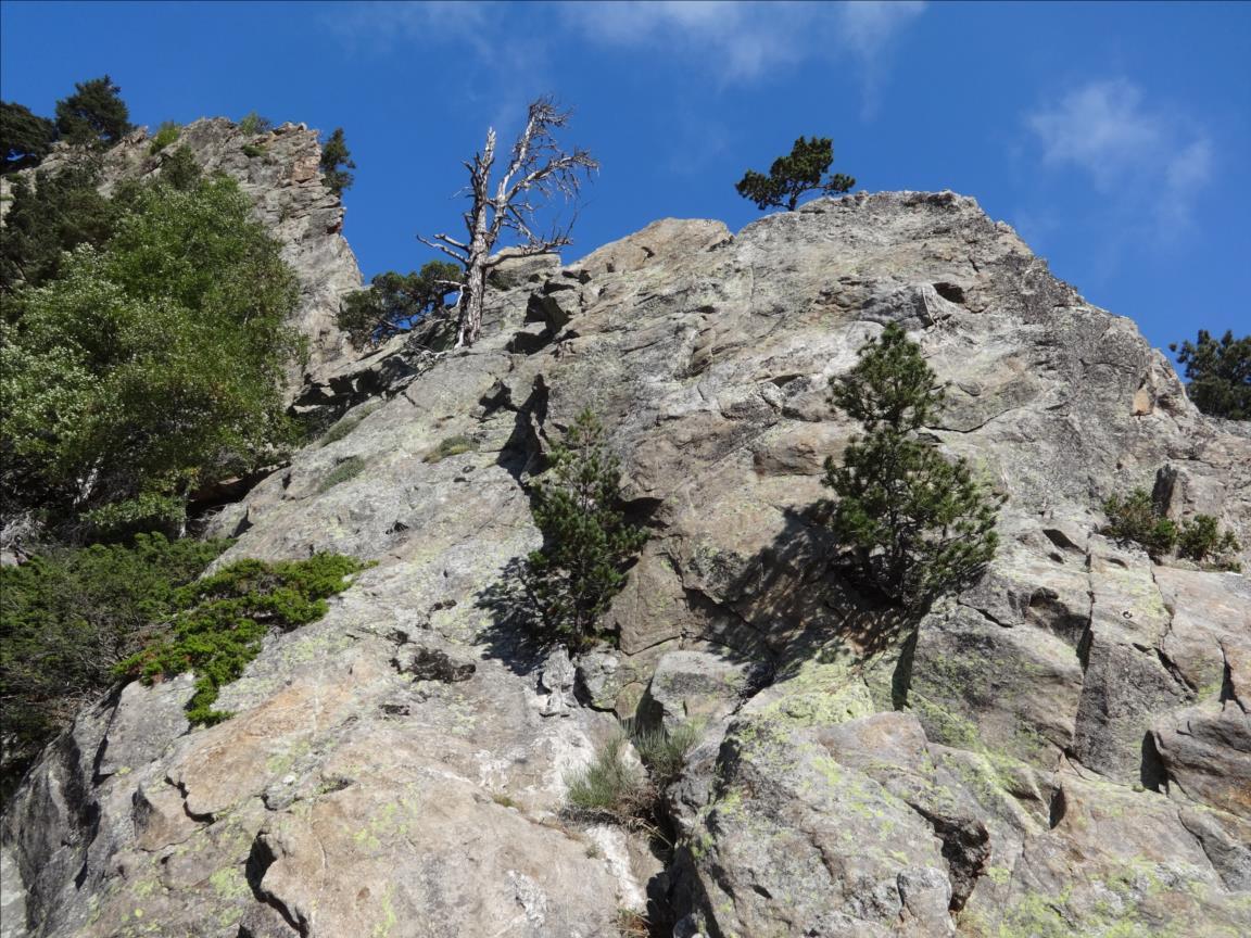 Roc de Mariailles, Lunule Partie, Pyrénées Orientales