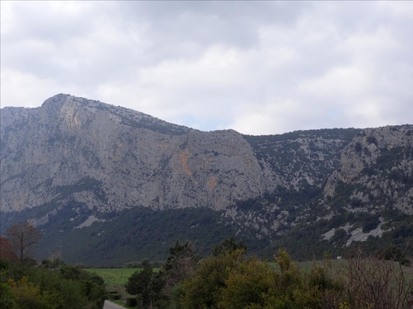Monte Oddeu, voie `Codina di topo`, Sardaigne