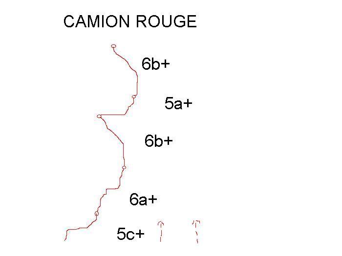 Voie Camion Rouge, Serre-Châtelard, Vercors