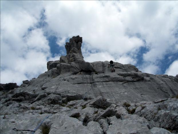 Piliers du Midi, Pointe Dzérat, Aravis