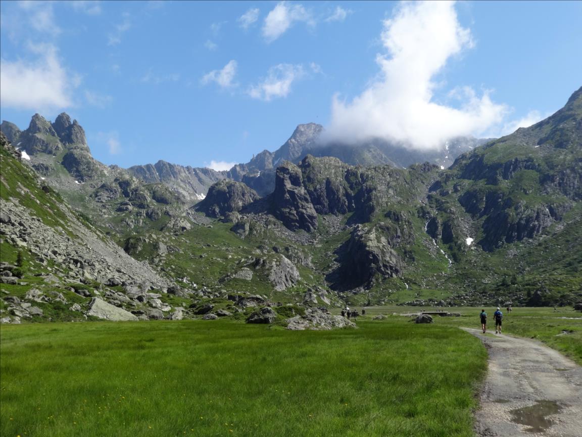 Barre des Colombettes, voie Polochon, Vanoise
