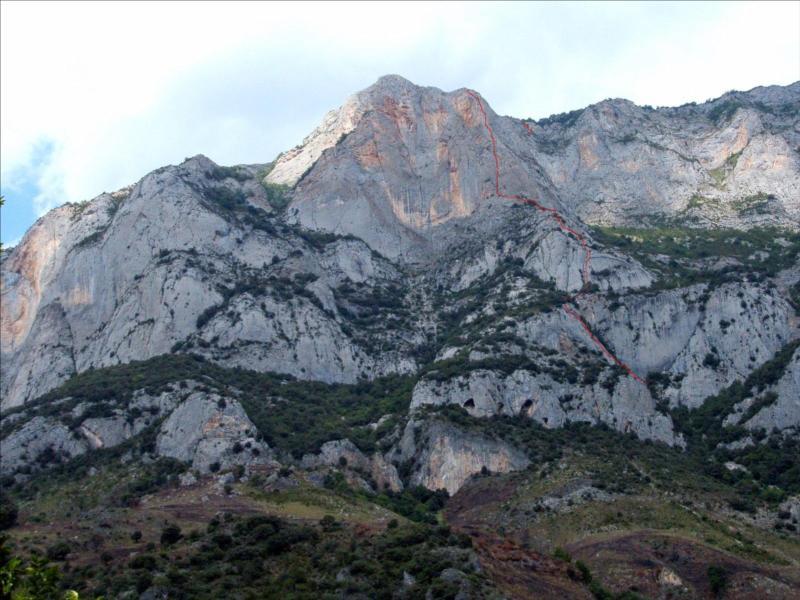 Quié de Sinsat, Voie Anas, Ariège