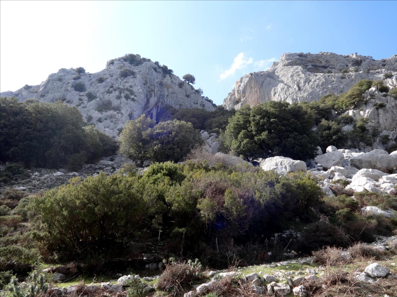 Serra Oseli, voie Amistade, Sardaigne
