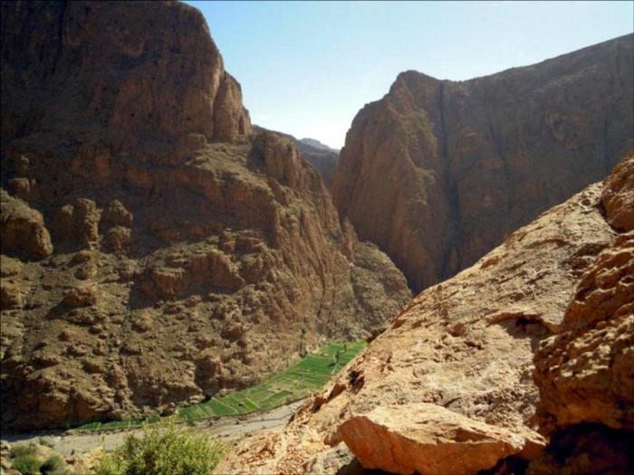 Tike Saab, Gorges de Todra, Maroc