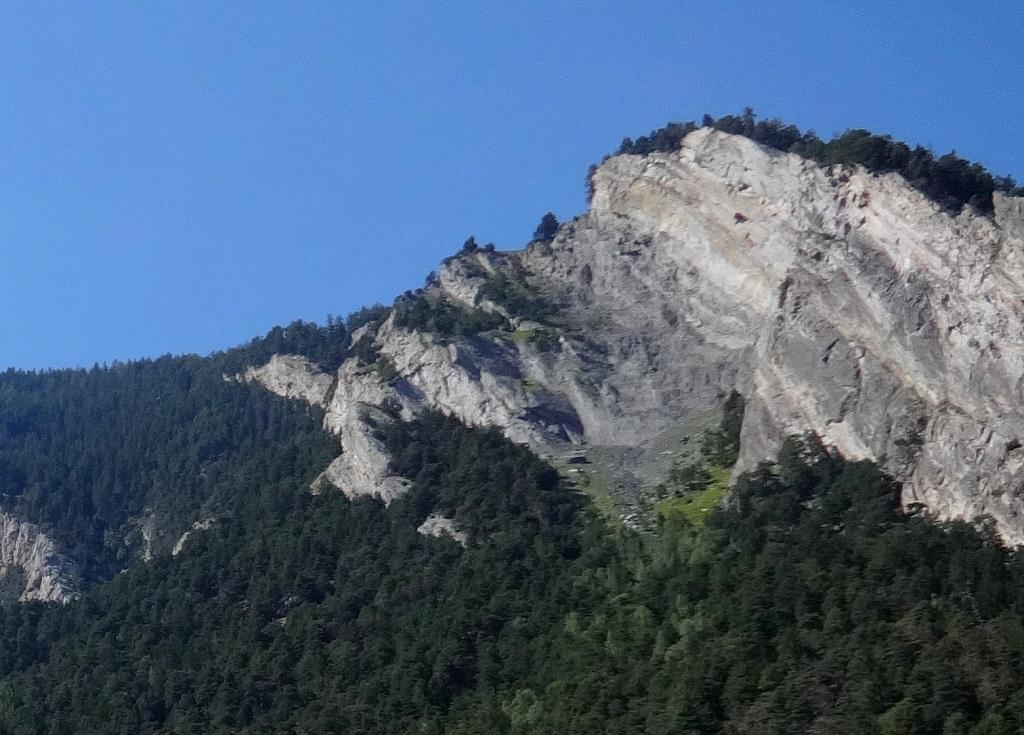Troubayet, voie `La suite logique`, Bas Valais près de Martigny