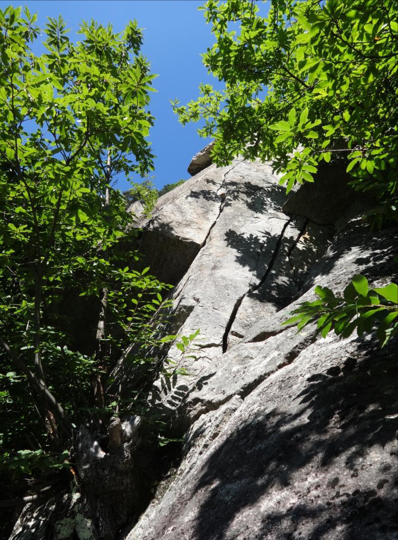 Vallone di Bourcet, voie `Sexy gate` (L4), Piémont occidental